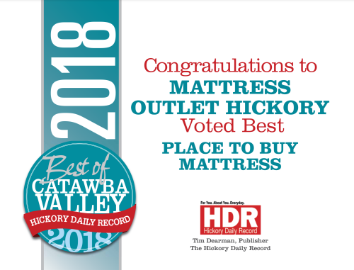 2018 Best of Catawba Valley Business; Mattress Outlet Liquidators in Hickory, NC