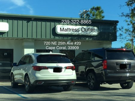 Mattress Outlet of Cape Coral, Exterior