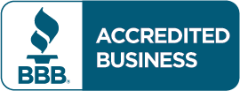 We are an accredited business with the Charlotte Better Business Bureau