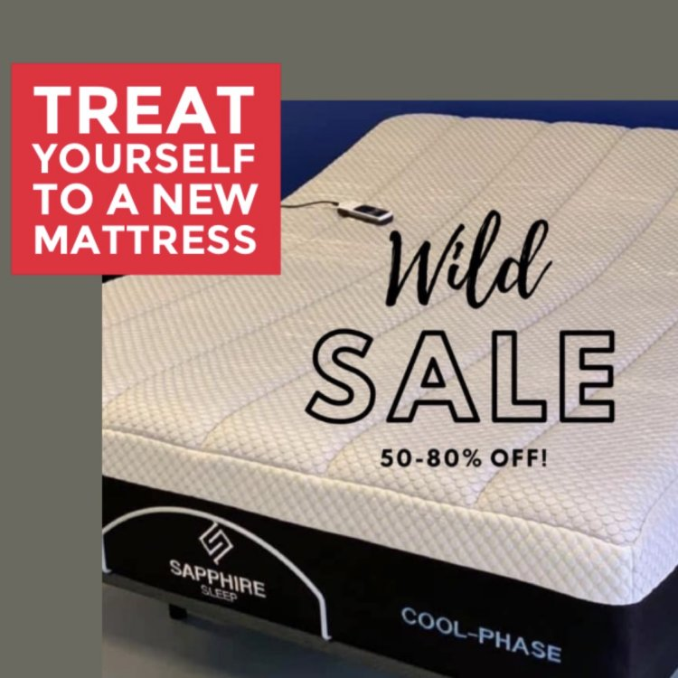 November Wild Sale; Mattress Outlet Hickory, NC